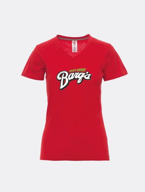 t-shirt v neck donna graphid promotion