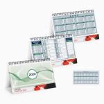 calendari da tavolo verde