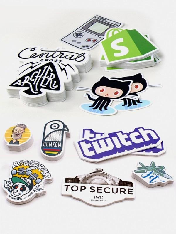 stickers adesivi personalizzati graphid