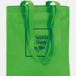 shopper totecolor tnt verde