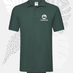 polo fruit of the loom 63218 uomo verde foresta