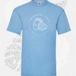 t-shirt uomo fruit 61036 azzurro cielo