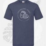 t-shirt uomo fruit 61036 blu-vintage-heather