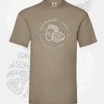 t-shirt uomo fruit 61036 khaki