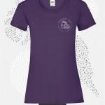 t-shirt donna fruit 61372 porpora