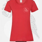 t-shirt donna fruit 61372 rosso