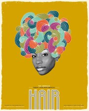 hair poster series - graphis