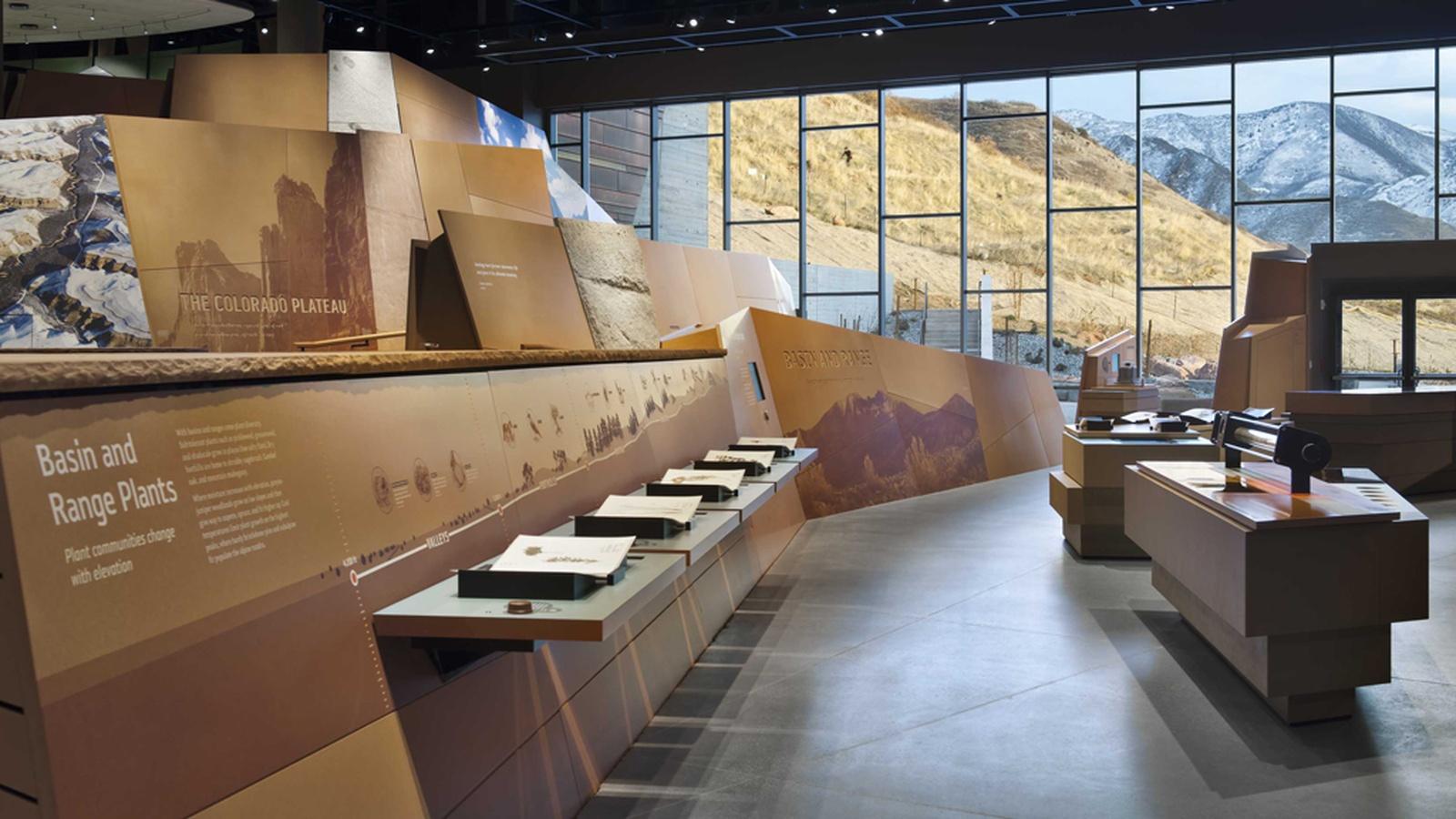 Natural History Museum Of Utah At Rio Tinto Center Graphis