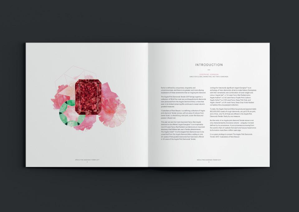 argyle pink diamonds tender catalogue