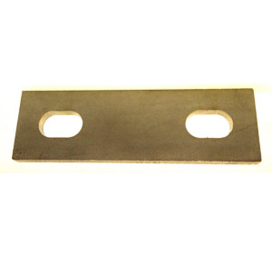 slotted backing plate