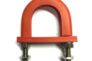 1110 Series light duty anti-vibration U-bolt -Flame retardant