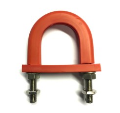 1110 Series light duty anti-vibration U-bolt -Flame retardant
