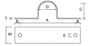 Pipe clamp drawing for Graphskill Sums