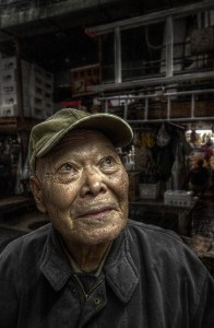 The Old Man of Tsukiji