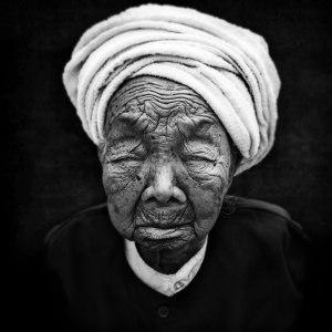 Menghai, Woman, Old, B&W, Artfreelance, Photographize, André Alessio, 1X, Série Noire