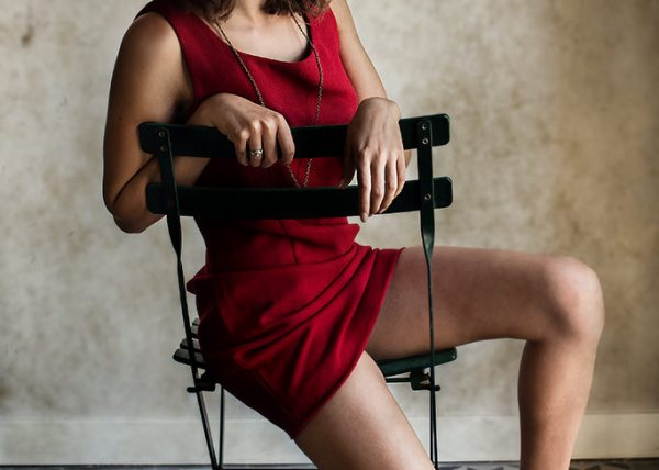 Robe, Rouge, Femme, Photographe Montpellier, Book
