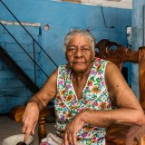 Old Lady in Havana