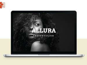 Allura – Multipurpose Powerpoint Template  Allura Multipupose Powerpoint Template A Modern And Clean Professional Presentation Template Special For A Agency Or Any Type Of Business.