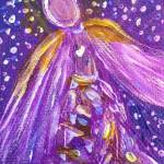"""Angel Within - 2.5"""" x 3.5"""" - $48"""