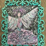 Angel Within #1291/190, framed - $130