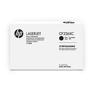 HP original toner cartridge CF226XC, 9000 yield