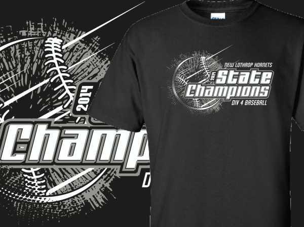 State Championship Softball T-Shirt Designs