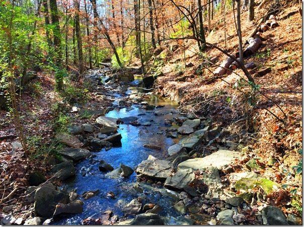 Boulder Creek Nature Trail at Vestavia Library
