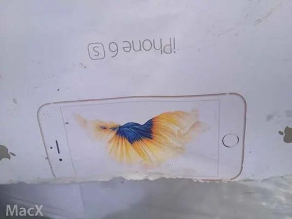 iPhone6sのリーク画像
