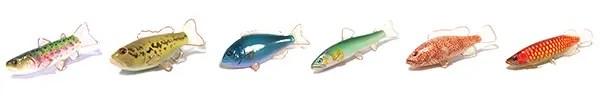 魚のブローチ