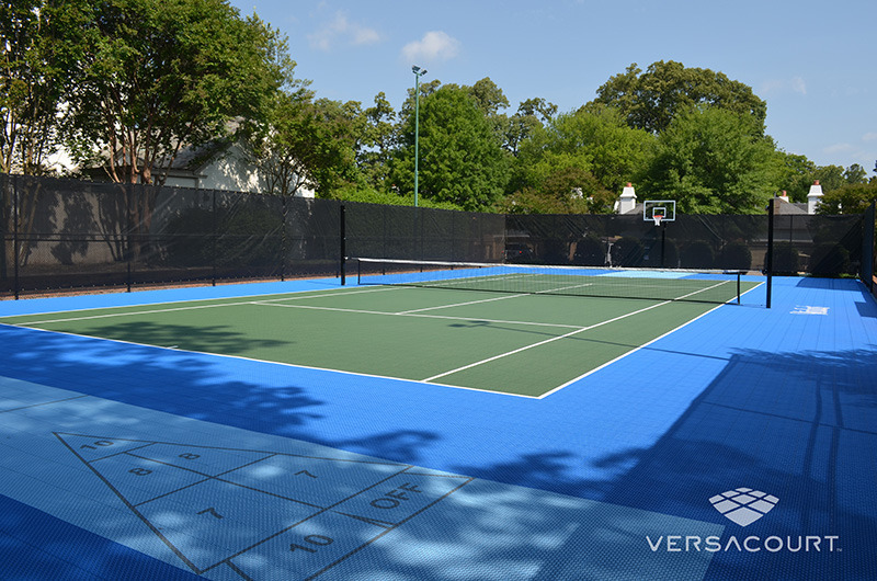 Grass  More Outdoor Services  MultiSport Game Courts in