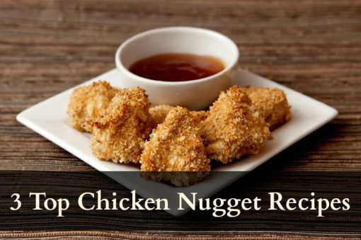 chicken nuggets, homemade, baked, recipe