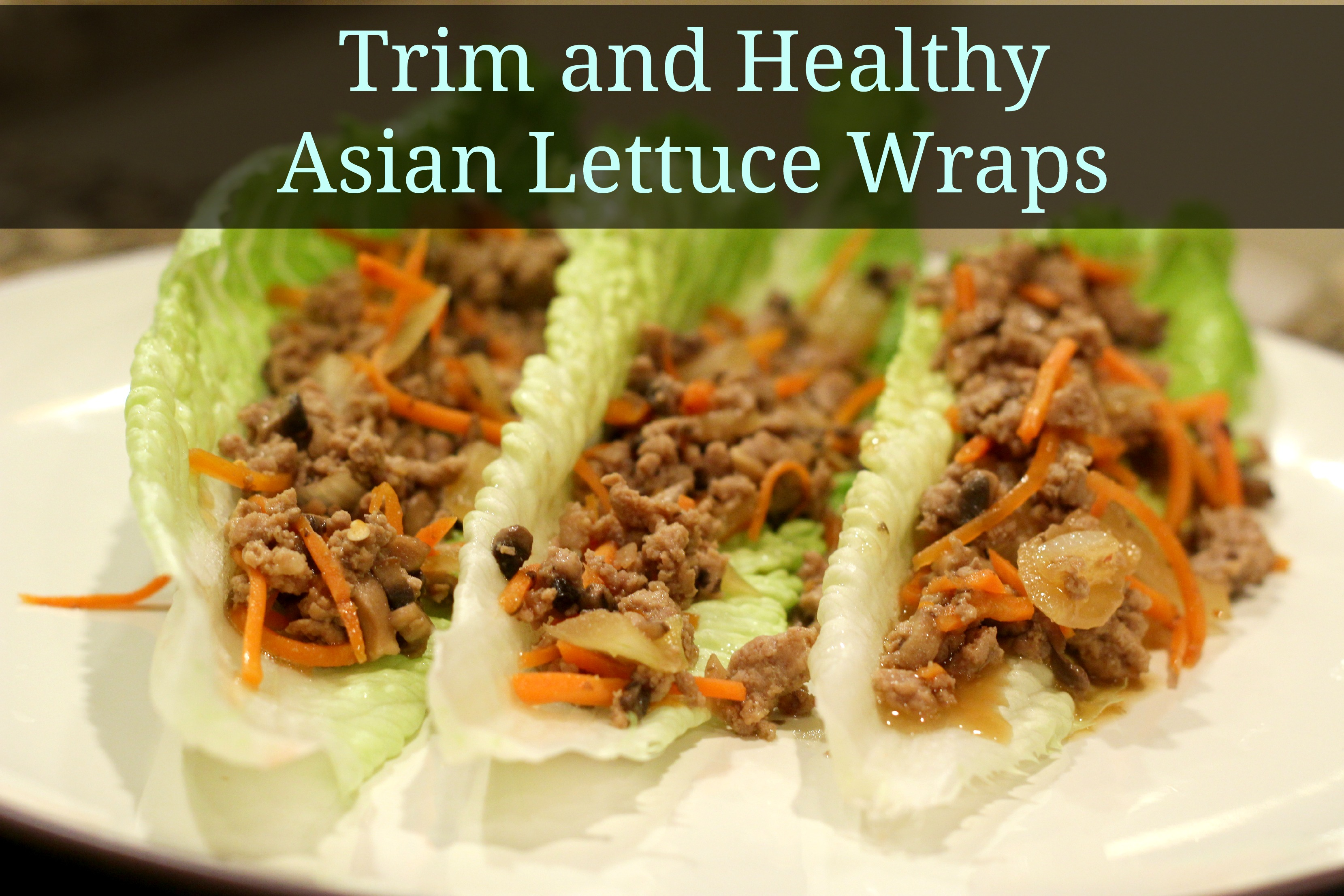 Trim and healthy asian lettuce wraps grassfed mama forumfinder Images