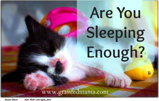 Are You Sleeping Enough?