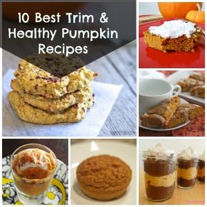 Trim and Healthy Pumpkin Recipes