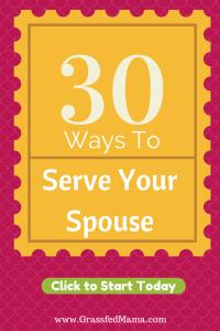 acts of service, 5 love languages, serve your spouse, show your spouse you love them