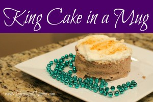 coconut flour, louisiana, cake in a mug, minute cake