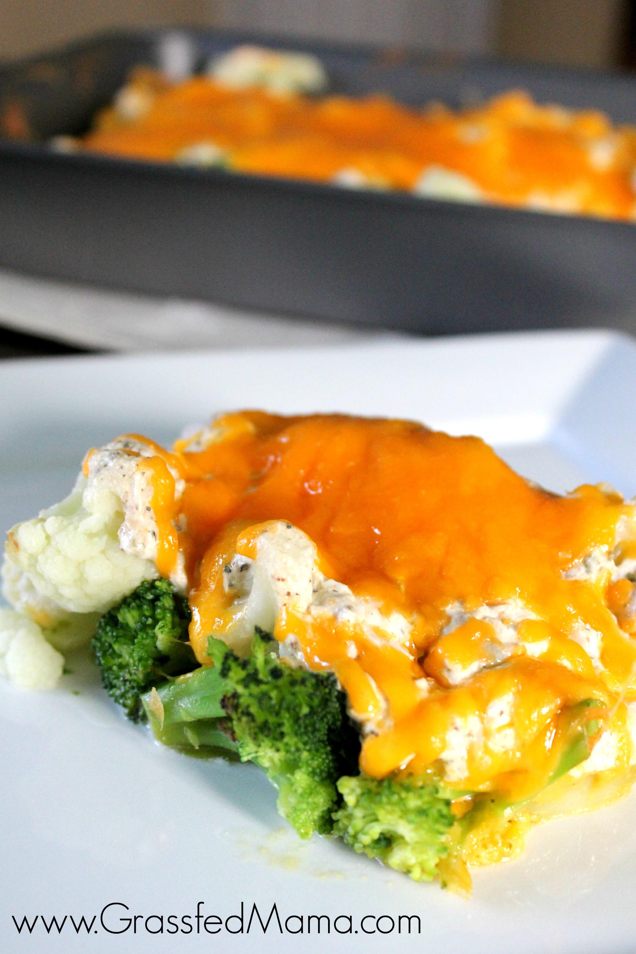 Low Carb Broccoli Tuna Casserole Bake Grassfed Mama