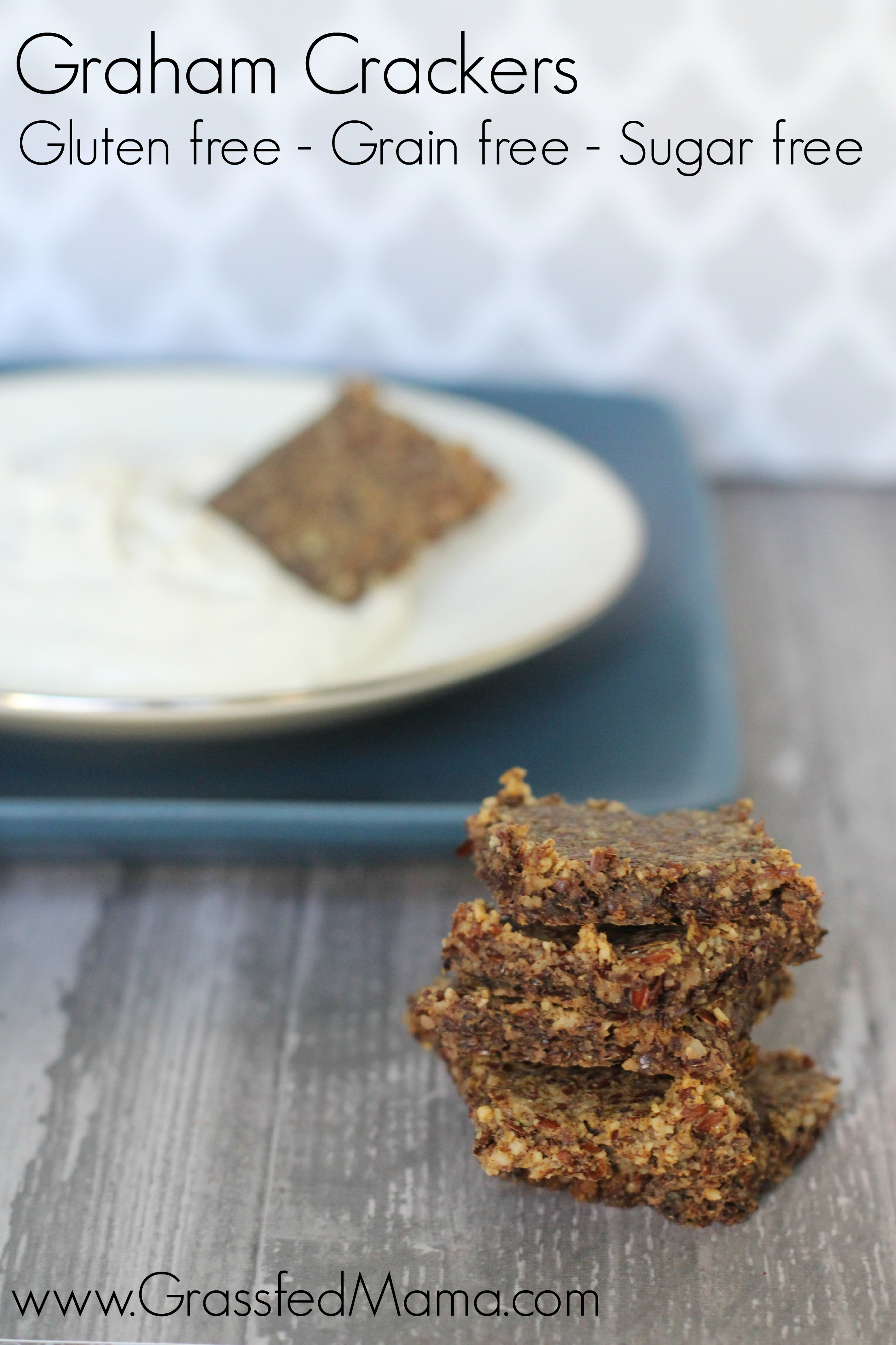 sugar free graham crackers gluten free grain free paleo