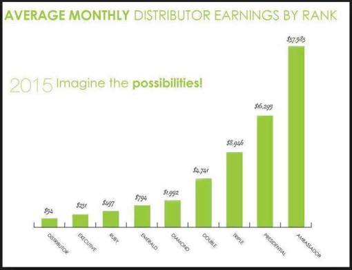 2015 Earnings Chart