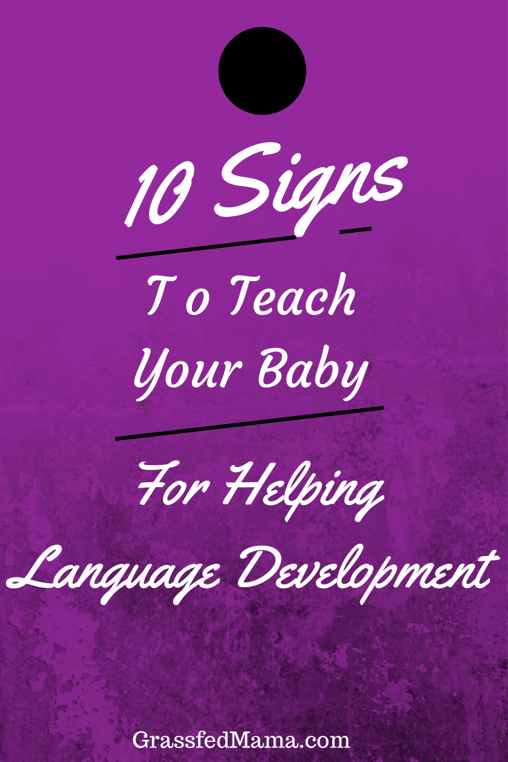 5 Signs to Teach Your baby