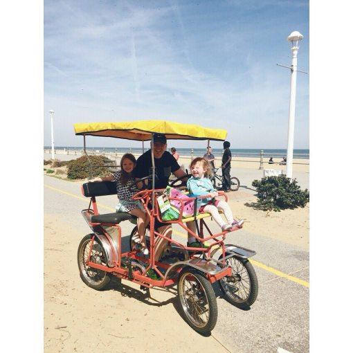 riding bikes in Virginia beach