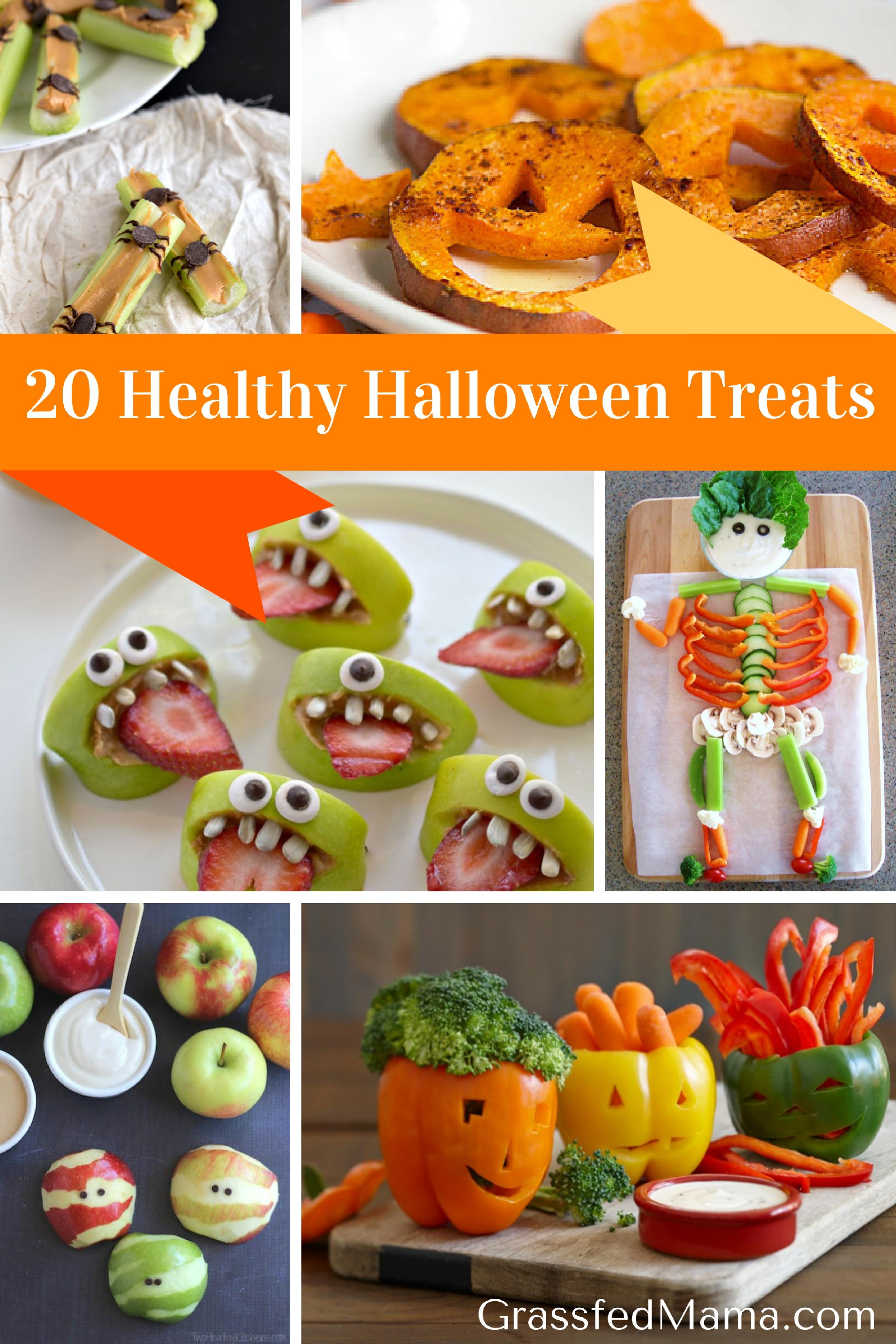 20 Healthy Halloween Treats - Grassfed Mama