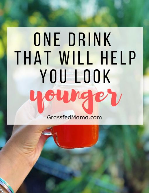 This drink will help you look younger naturally!