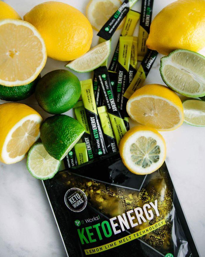 Keto Energy Pixie Sticks