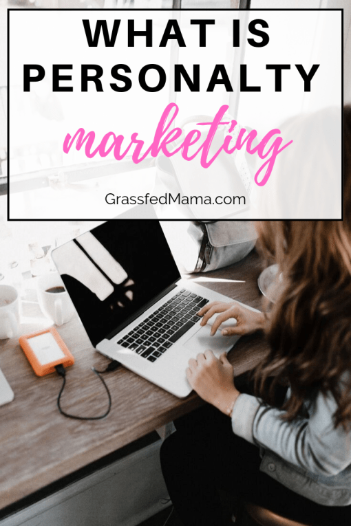 What is Personality Marketing