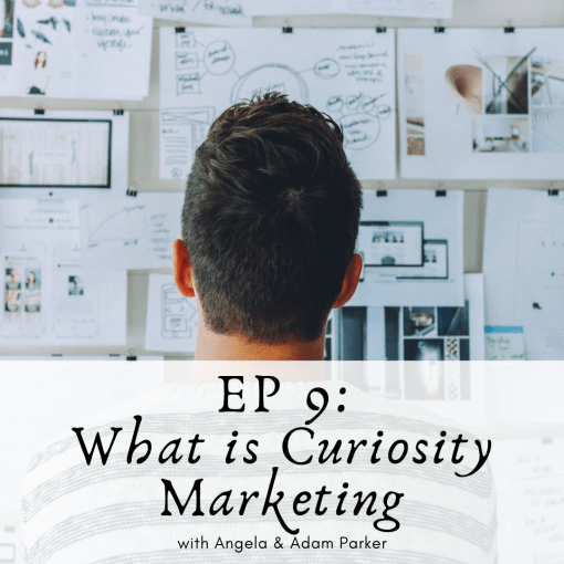 What is curiosity marketing?