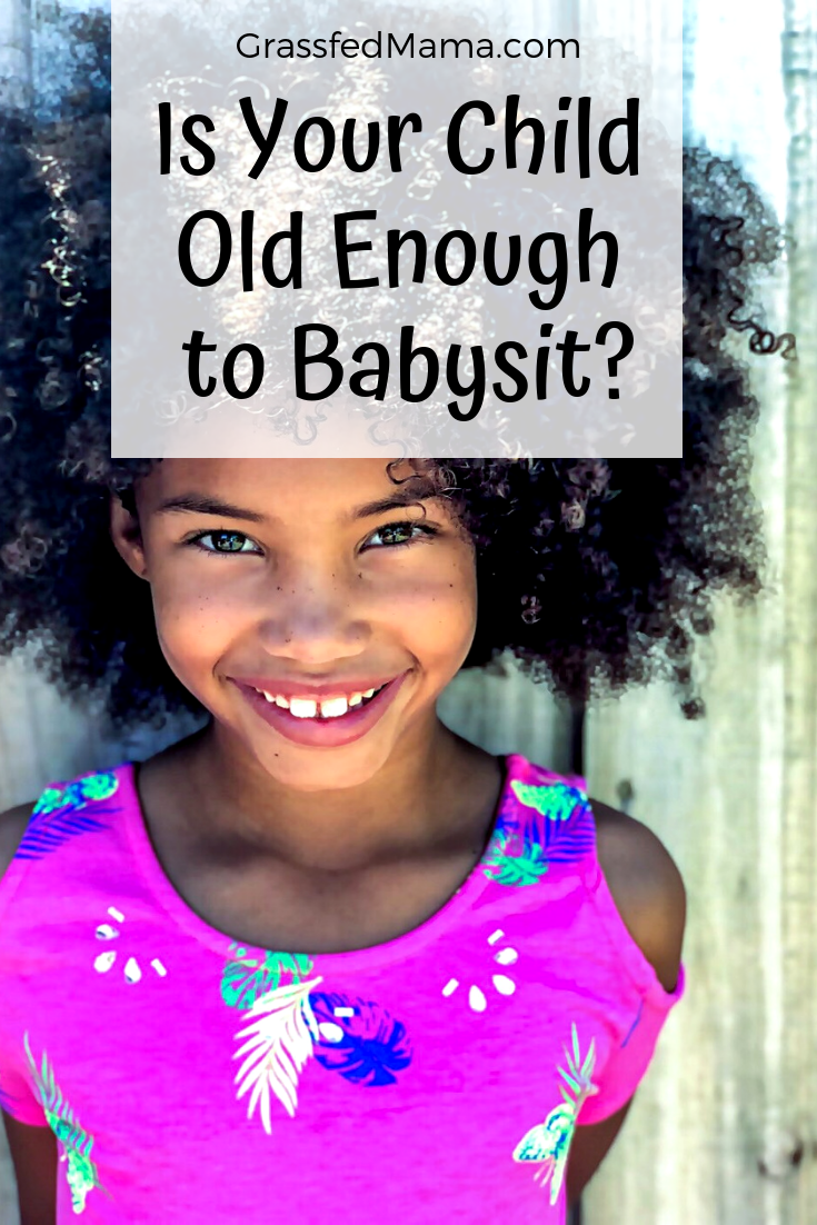 Is Your Child Old Enough to Babysit