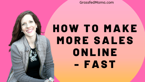 How to Make More Sales Online Fast