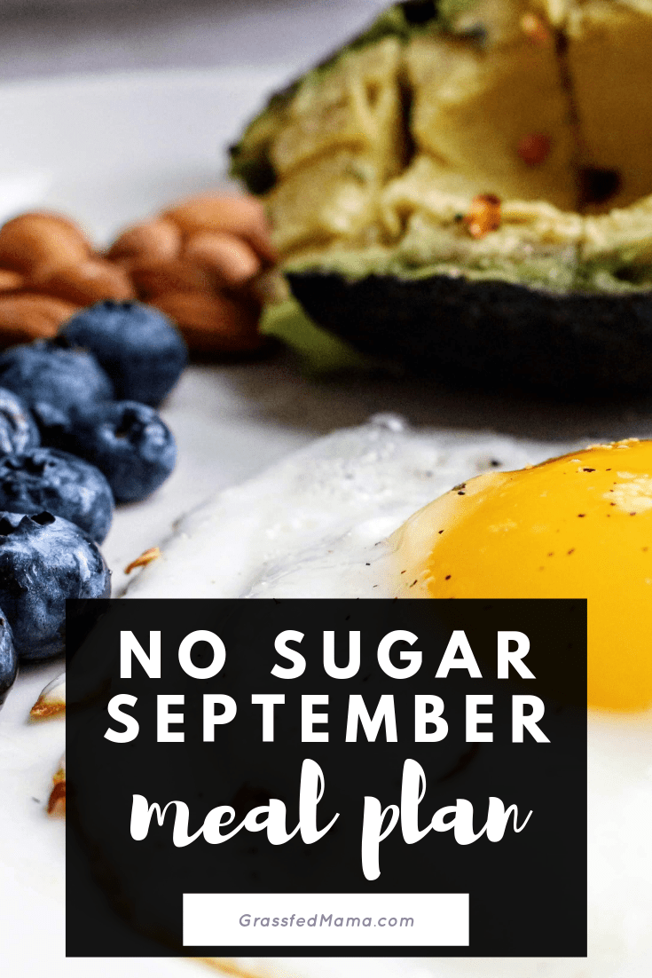 No Sugar September Meal Plan