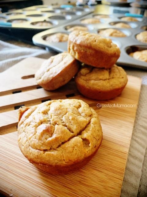 High Protein Banana Muffins